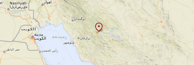 Carte Shiraz - Iran