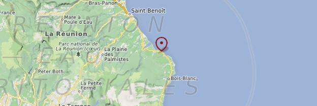 Carte Sainte-Rose - Réunion