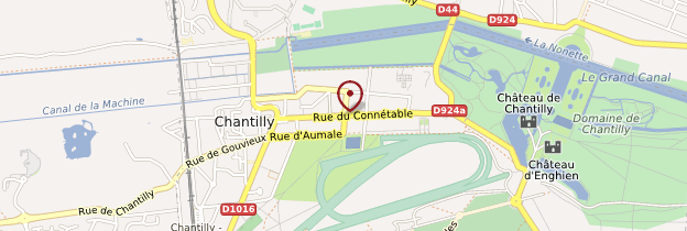 Carte Chantilly - Picardie
