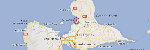 Carte Vieux-Bourg - Guadeloupe