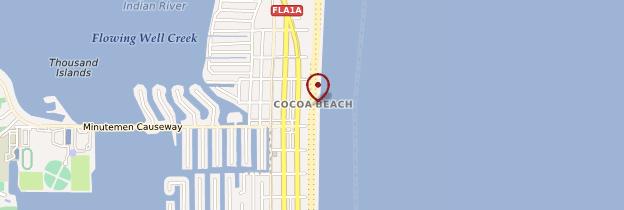 Carte Cocoa Beach - Floride