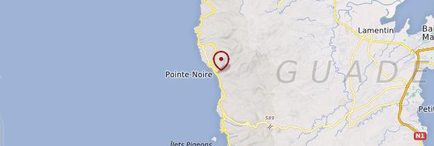 Carte Pointe noire - Guadeloupe