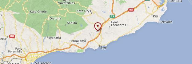 Carte Tohni - Chypre