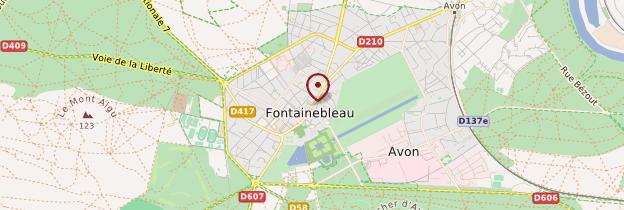 Carte Fontainebleau - Île-de-France