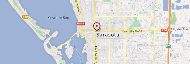 Carte Sarasota - Floride