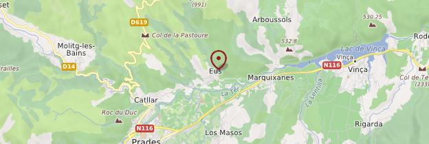 Carte Eus - Languedoc-Roussillon