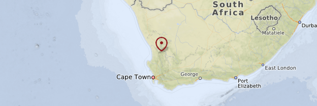 Carte Cederberg - Afrique du Sud