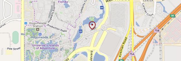 Carte Universal Studios - Floride
