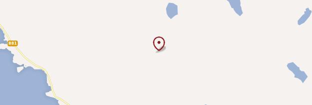 Carte Île de Hadseloy - Norvège