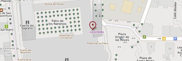 Carte La Giralda - Séville