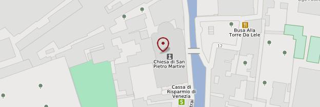 Carte Basilica dei Santi Maria e Donato - Venise