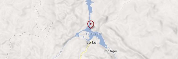 Carte Lac Ba Bể  - Vietnam