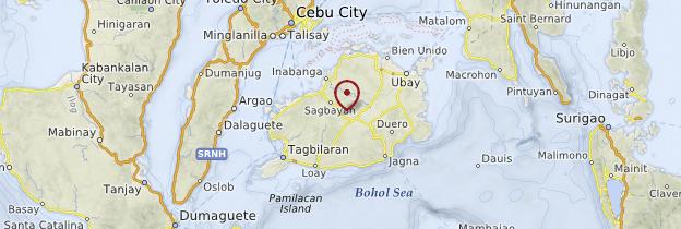 Carte Bohol - Philippines