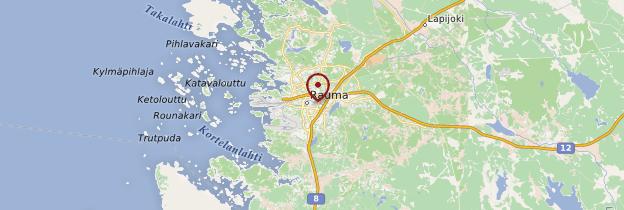 Carte Rauma - Finlande