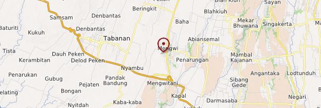 Carte Mengwi - Bali