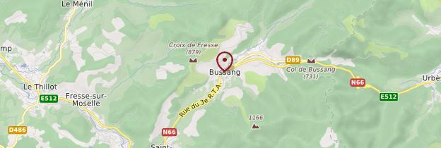 Carte Bussang - Lorraine