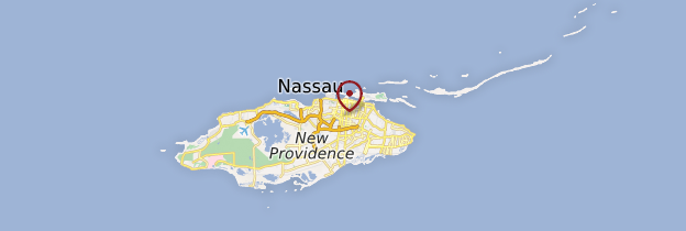 Carte Nassau - Bahamas