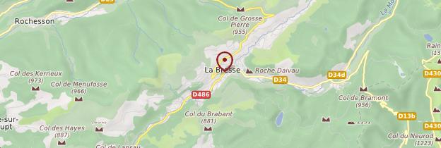 Carte La Bresse - Lorraine