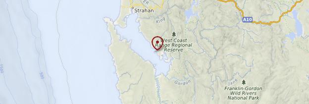 Carte Philipp Island - Australie