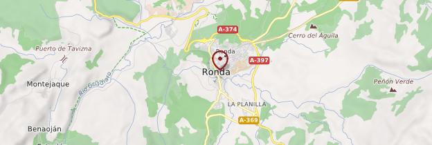 Carte Ronda - Andalousie
