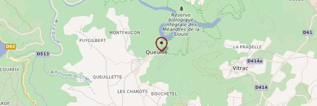 Carte Queuille - Auvergne