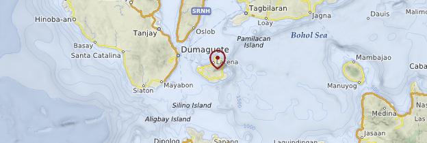 Carte Siquijor - Philippines