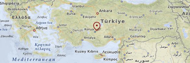 Carte Konya - Turquie
