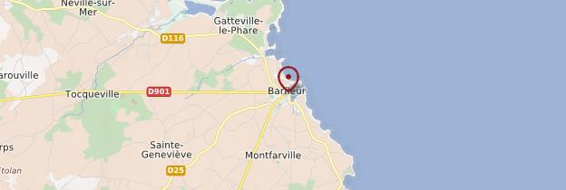 Carte Barfleur - Normandie