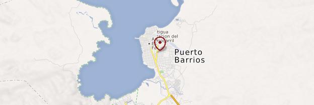 Carte Puerto Barrios - Guatemala