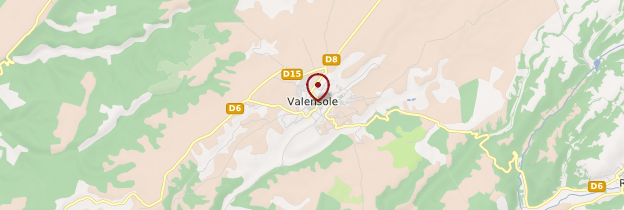 Carte Valensole - Provence
