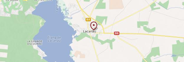 Carte Lacanau - Aquitaine - Bordelais, Landes