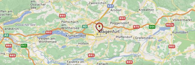 Carte Klagenfurt - Autriche