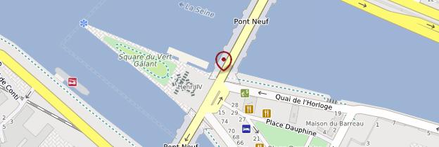 Carte Pont-Neuf - Paris