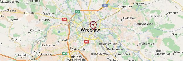 Carte Wrocław - Pologne