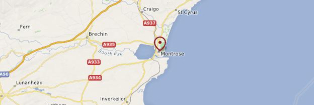 Carte Montrose - Écosse