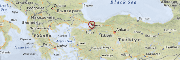 Carte Bursa - Turquie