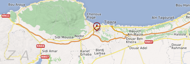 Carte Algerie Tipaza.Tipaza Cote Algerienne Guide Et Photos Algerie Routard Com