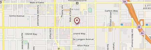 Carte Hollywood - Los Angeles