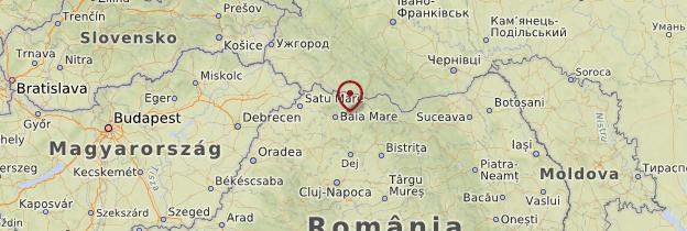 Carte Maramureş - Roumanie