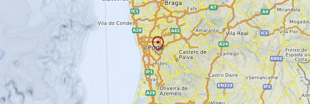 Carte Douro - Portugal