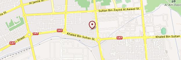 Carte Al Ain - Abu Dhabi