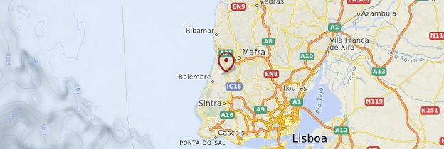 Carte Estremadura - Portugal