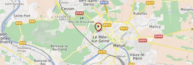 Carte Seine-et-Marne - Île-de-France
