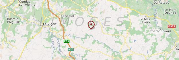 Carte Haute-Vienne - Limousin