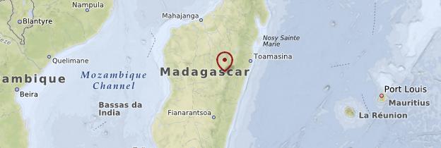 Carte Province d'Antananarivo - Madagascar