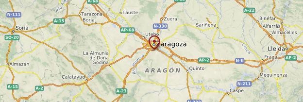Carte Aragon - Espagne
