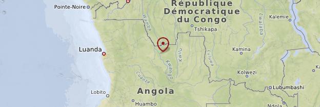 Carte Nord - Angola