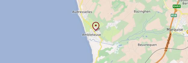 Carte Ambleteuse - Nord-Pas-de-Calais