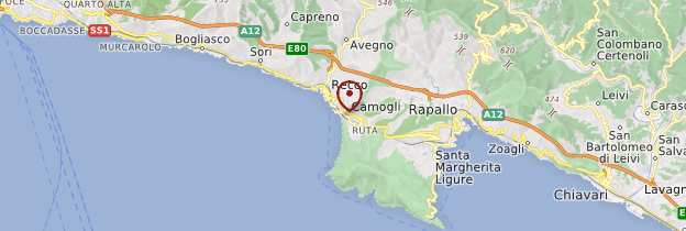 Carte Camogli - Italie