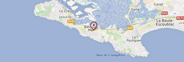 Carte Batz-sur-Mer - Pays de la Loire
